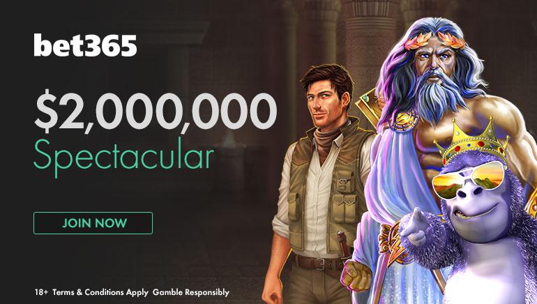 參加bet365價值$2,000,000的大派送活動