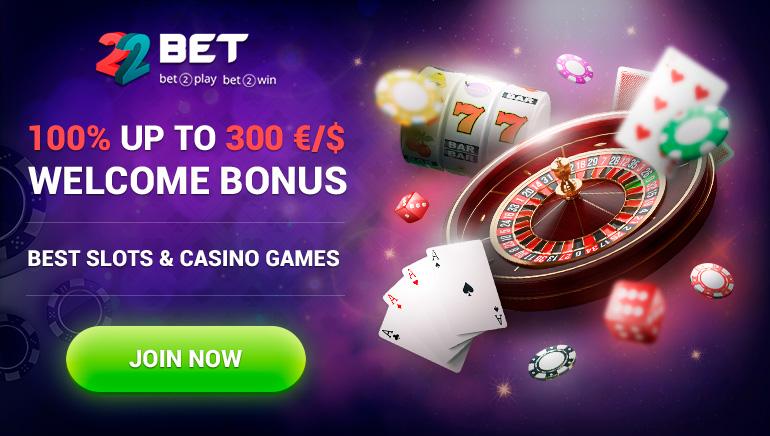 22BET Casino日益擴大的精彩誘人遊戲