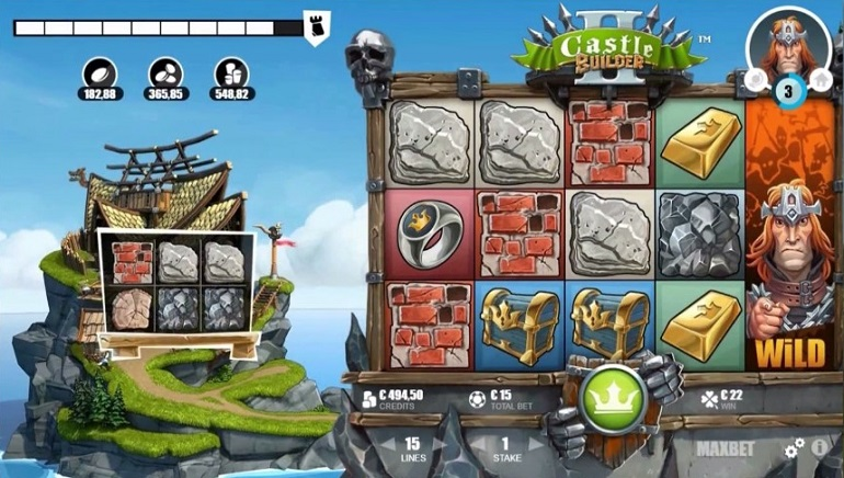 建造正當時:Microgaming老虎機Castle Builder II發佈